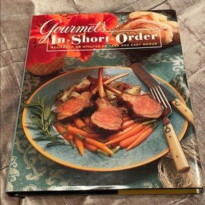 Gourmet Hardcover Cookbook